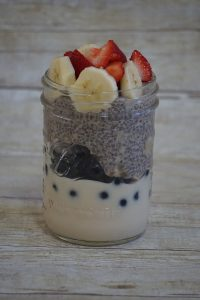 Yogurt & Chia Parfait (gluten-free)