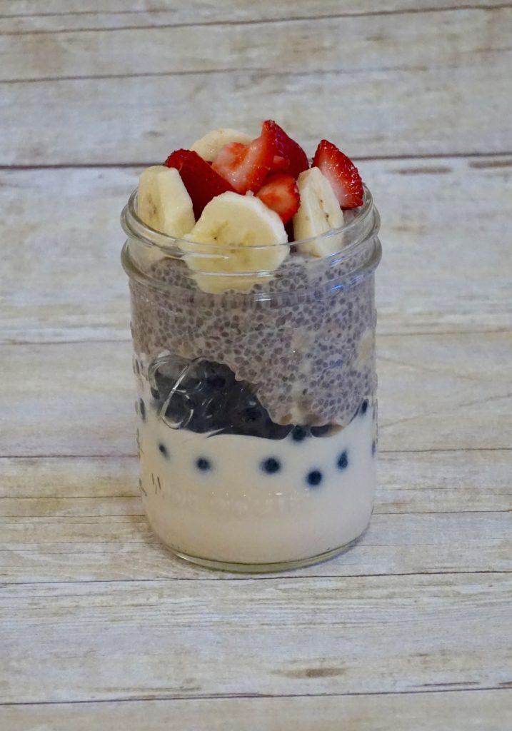 yogurt chia parfait leahs plateee 717x1024 - Yogurt & Chia Parfait (gluten-free)