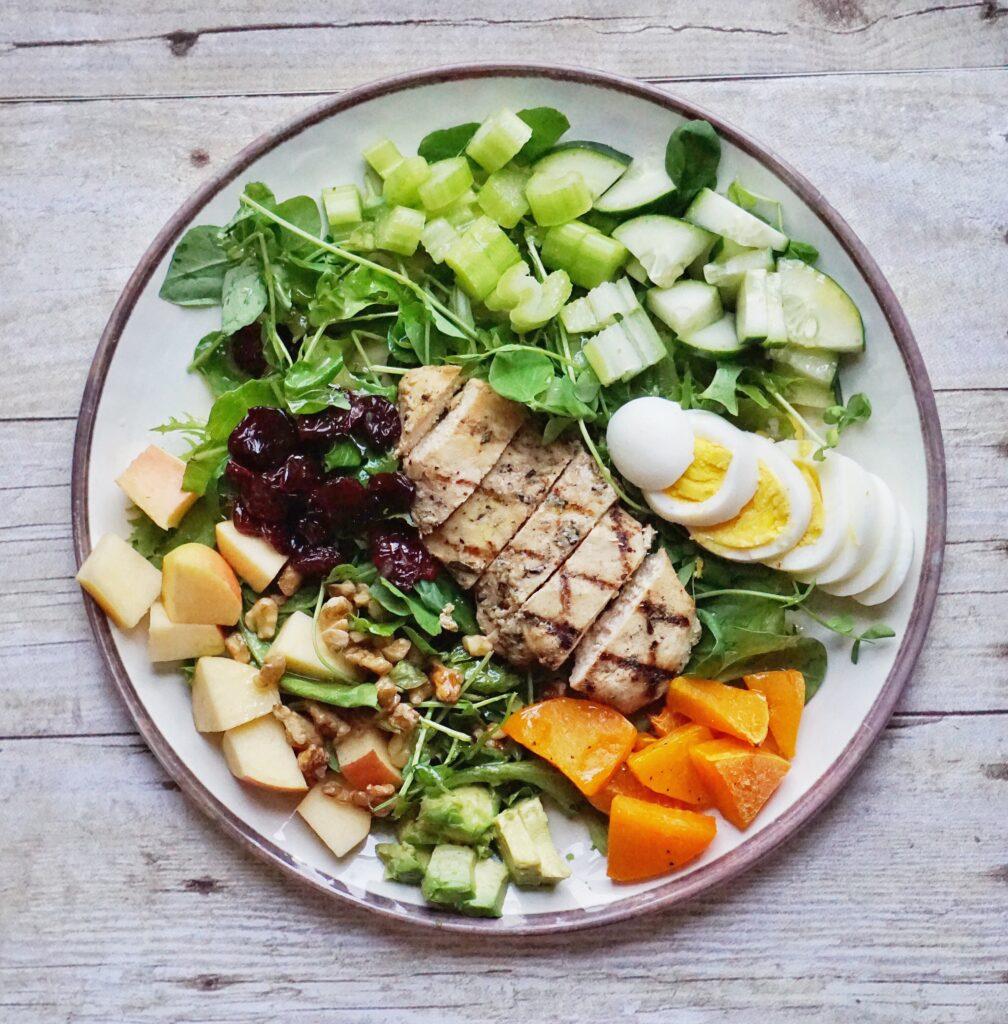 Autumn Cobb Salad Leahs Plate 1008x1024 - Autumn Cobb Salad