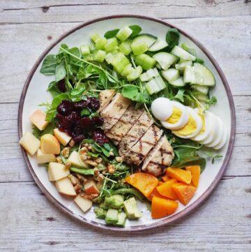 Autumn Cobb Salad Leahs Plate 360x361 - Autumn Cobb Salad