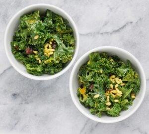 Detoxifying Vegan Kale Salad by Leah's Plate