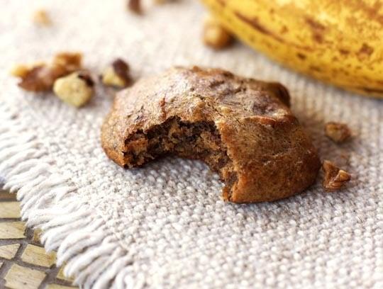 Banana Walnut Bread Cookies - 7 Delicious Healthy Cookie Recipes
