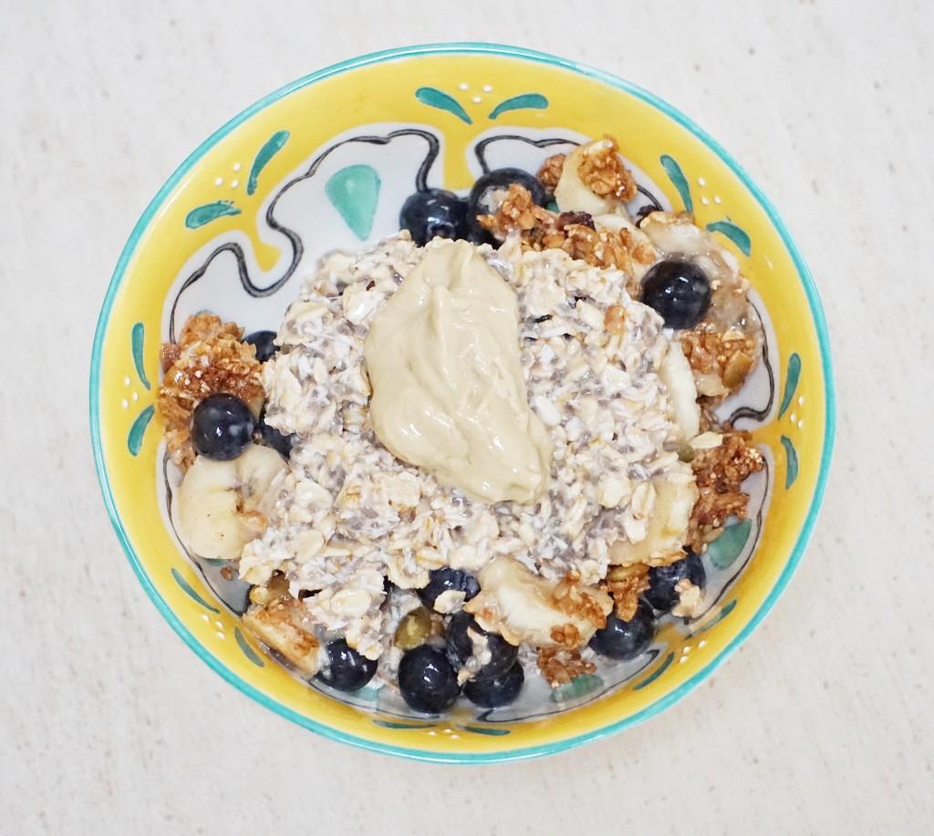 Coconut Blueberry Crumble 1024x917 - Blueberry Coconut Crumble Parfait