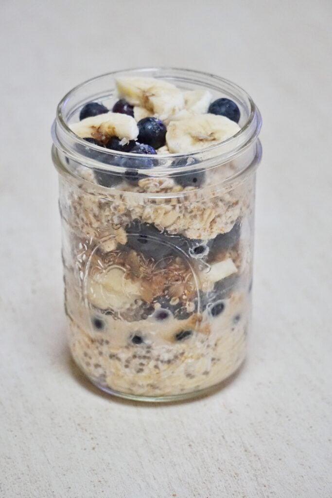 Coconut Blueberry Crumble Parfait // Leah's Plate