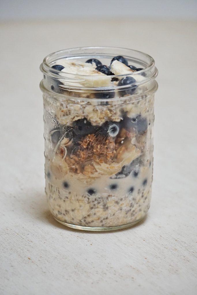Coconut Blueberry Crumble Parfait2 683x1024 - Blueberry Coconut Crumble Parfait