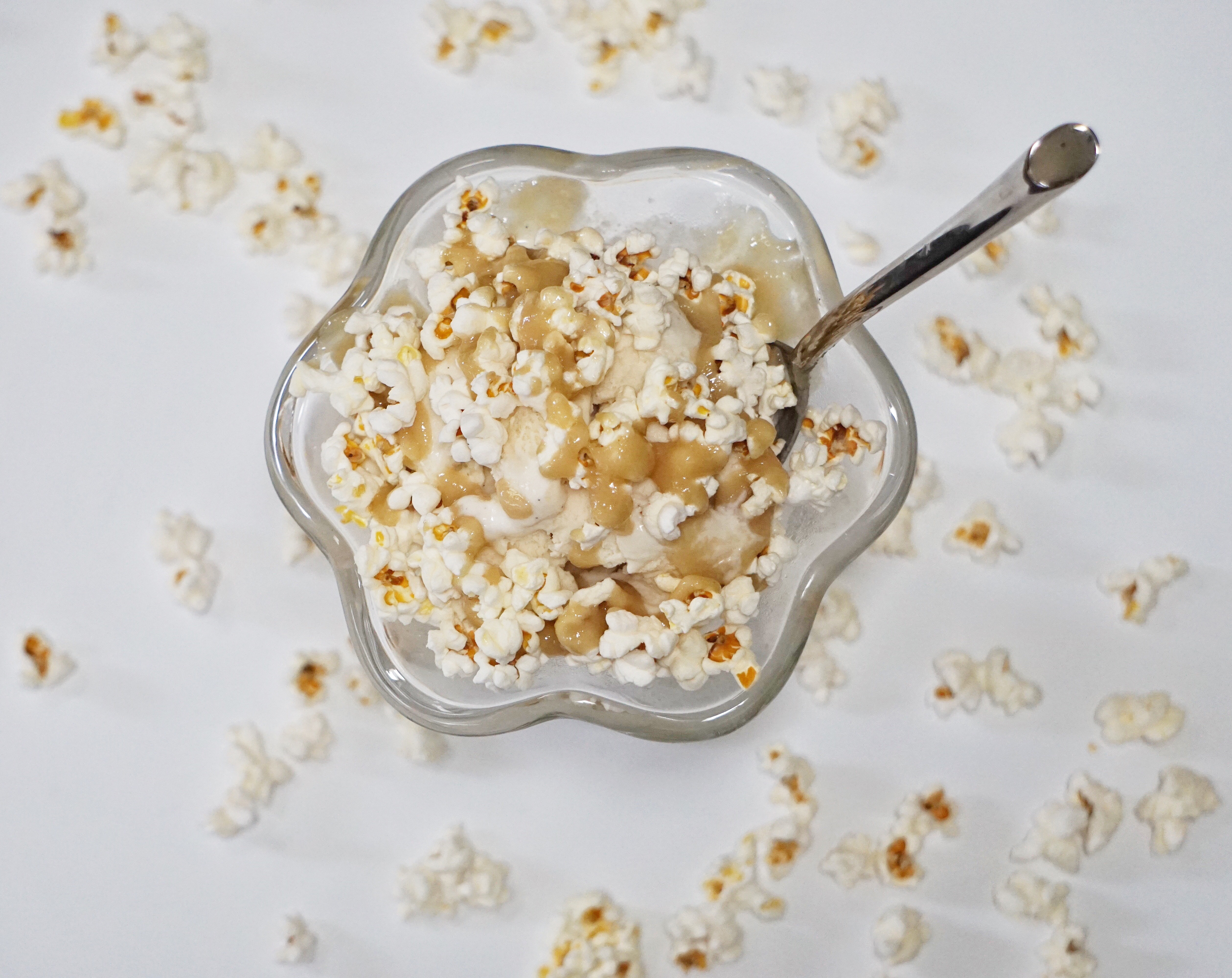 Sea Salt Popcorn Sundae 3 - Sea Salt Popcorn Sundae