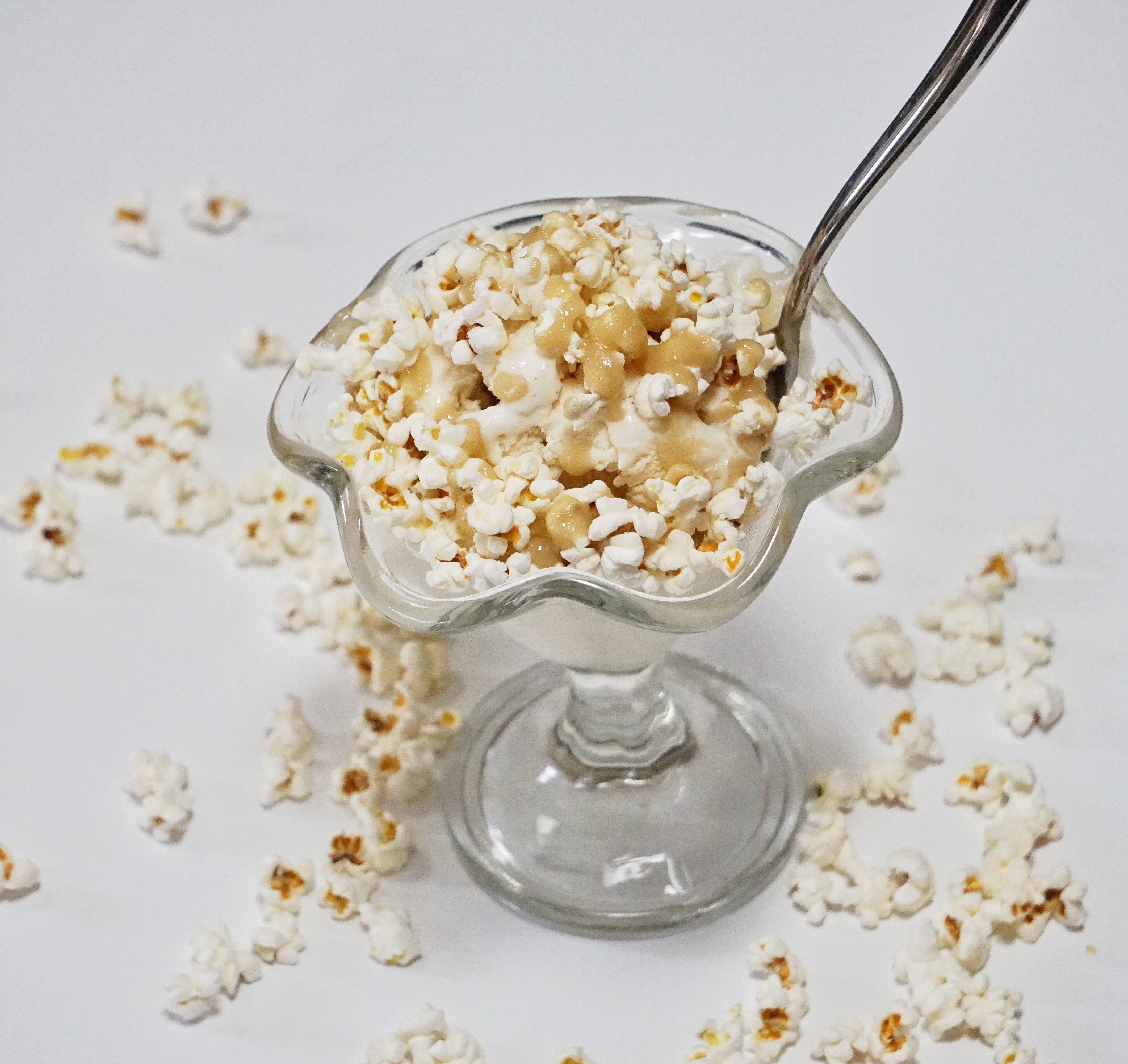 Sea Salt Popcorn Sundae - Sea Salt Popcorn Sundae
