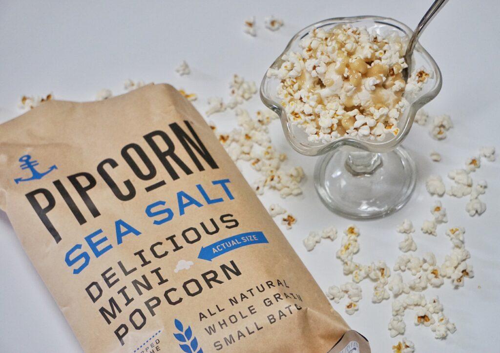 Sea Salt Popcorn Sundae4 1024x723 - Sea Salt Popcorn Sundae