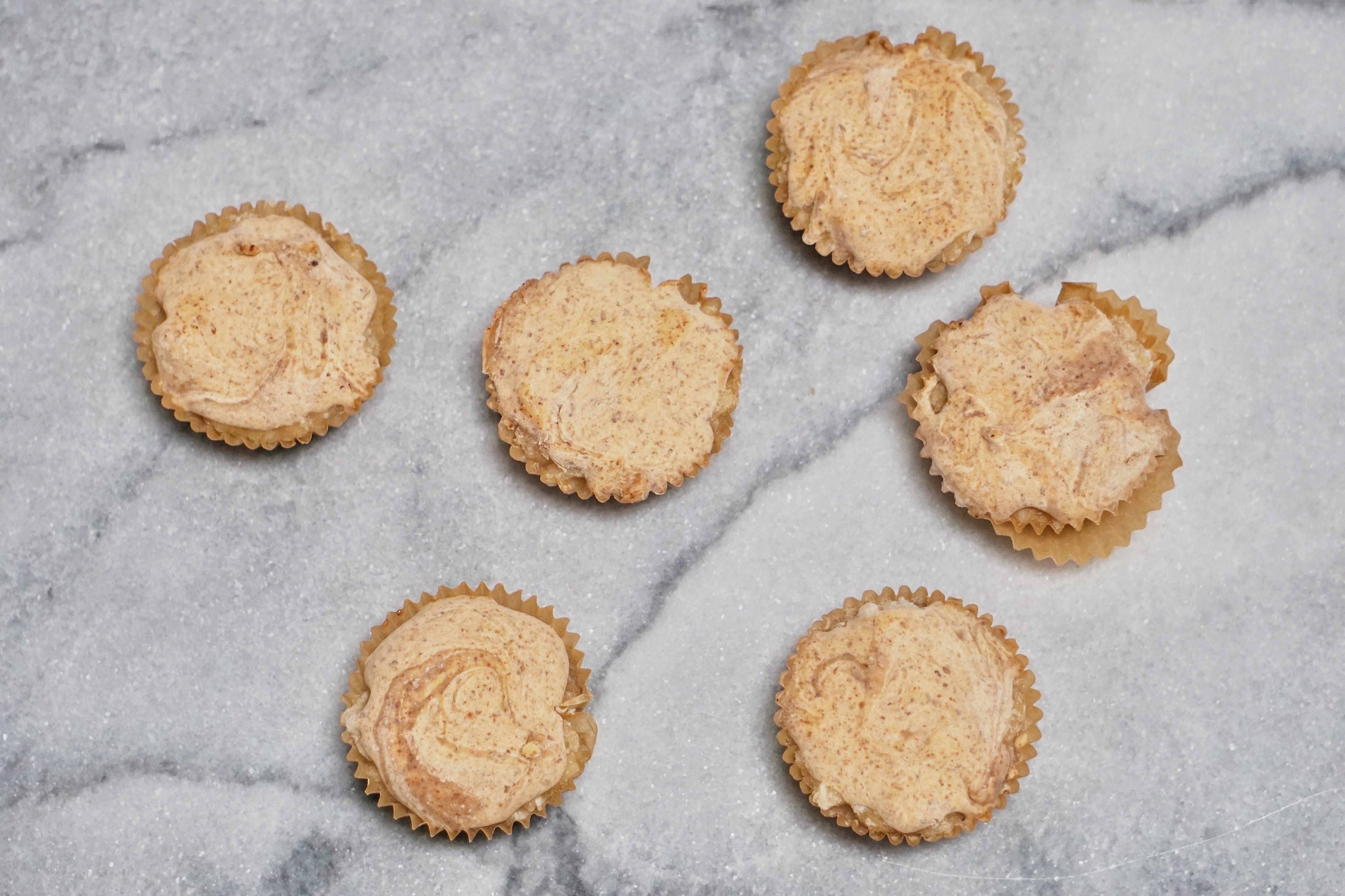 Almond Butter Banana Cups Leahs Plate4 - Almond Butter & Banana Cups