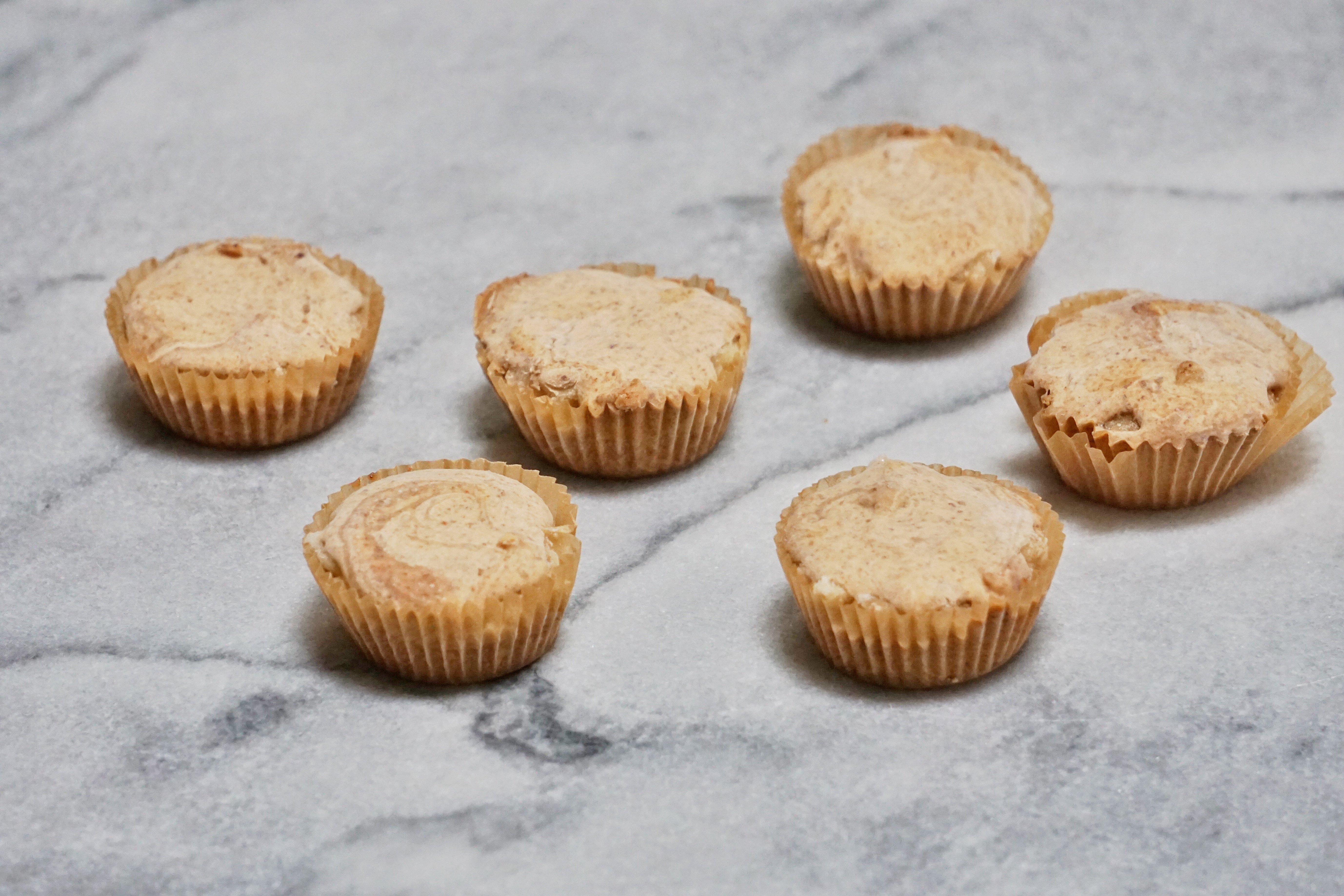 Almond Butter Banana Cups Leahs Plate5 - Almond Butter & Banana Cups