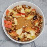 Apple Crumble Oatmeal Leahs Plate 150x150 - Apple Crumble Oatmeal