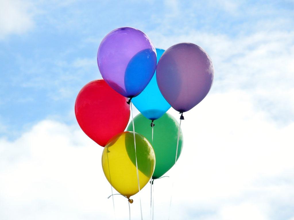 birthday balloons Leahs Plate - My 30th Birthday!