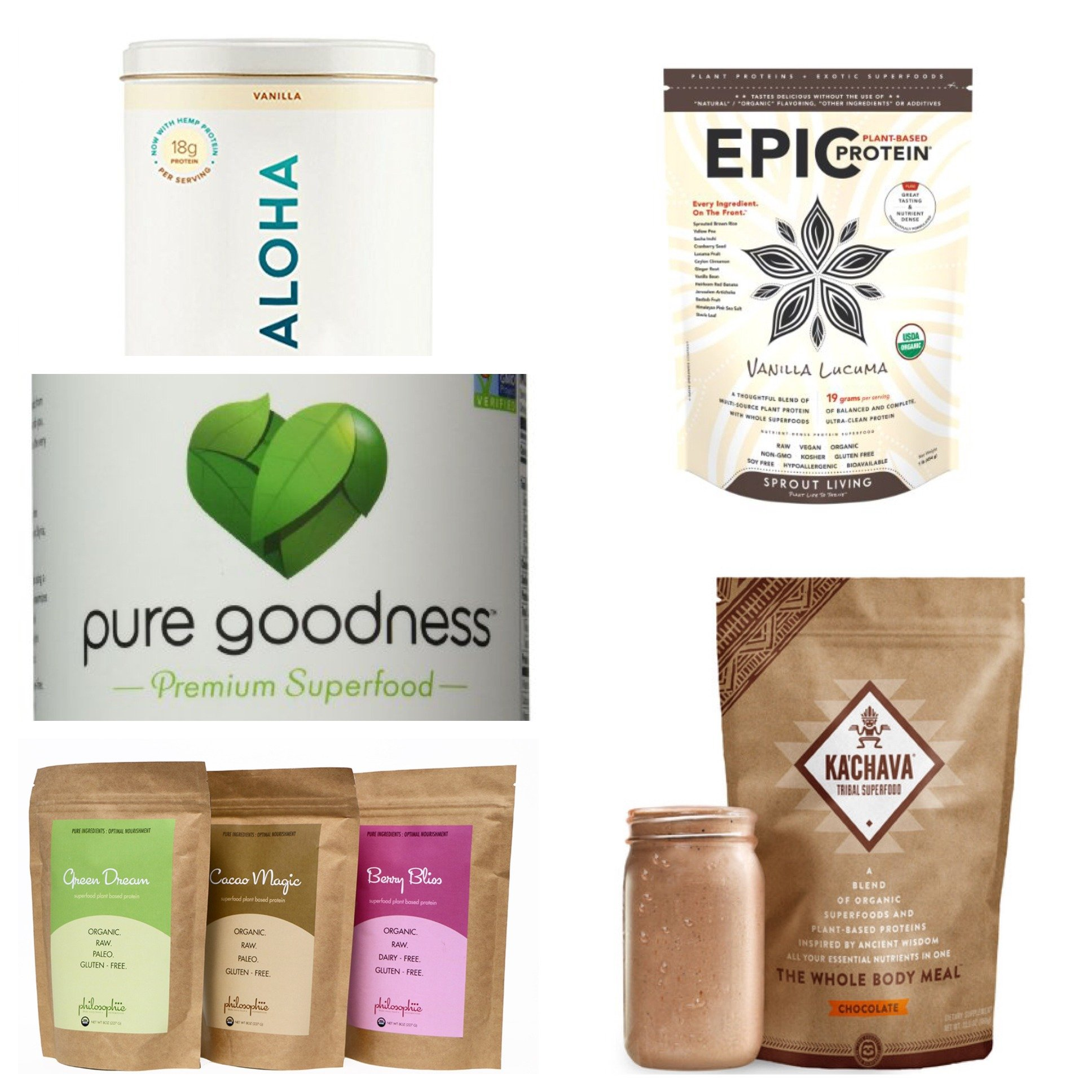 My Favorite Protein Powders Leahs Plate - My Favorite Clean, Plant-Based Protein Powders