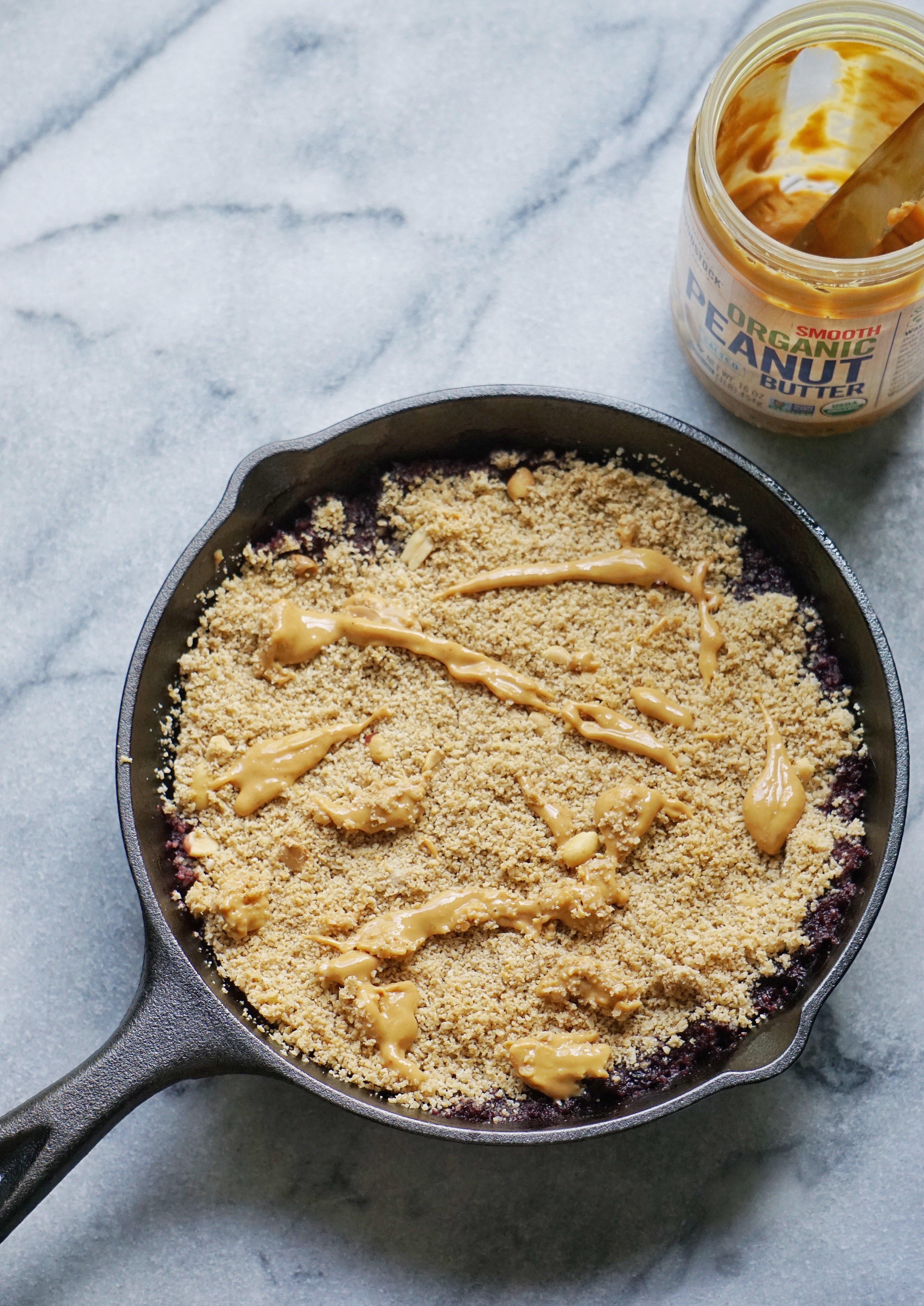 PBJ Crumble Leahs Plate - Peanut Butter & Jelly Crumble