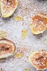 Maple Cinnamon Baked Figs