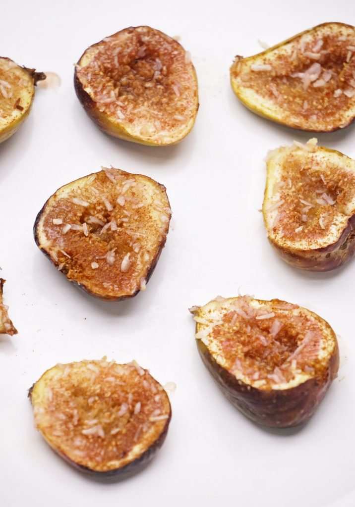 Maple Cinnamon Baked Figs by Leahs Plate9 716x1024 - Maple Cinnamon Baked Figs