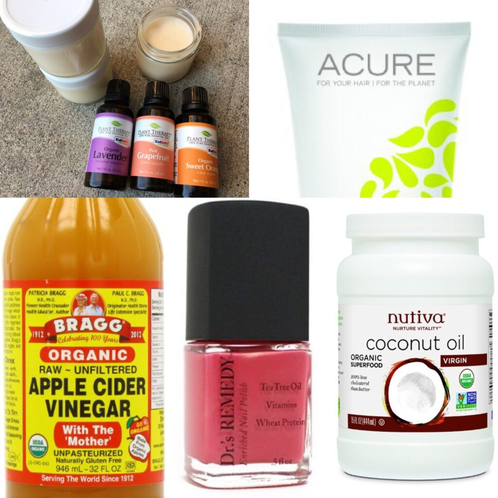 My favorite natural beauty products by Leah's Plate