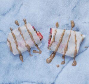Paleo Berry Breakfast Burrito