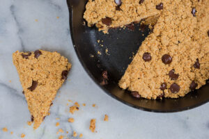 Gluten-Free Chocolate Chip Cookie Skillet