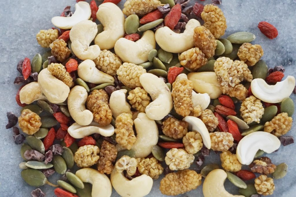 Superfood Trail Mix by Leahs Plate3 1024x684 - Superfood Trail Mix