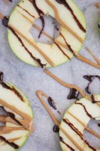 Healthy Donut-Shaped Apple Snacks