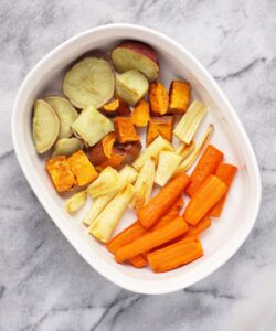 Roasted Root Veggies – the Perfect Thanksgiving Side
