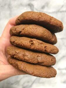 Flourless Cinnamon Molasses Cookies