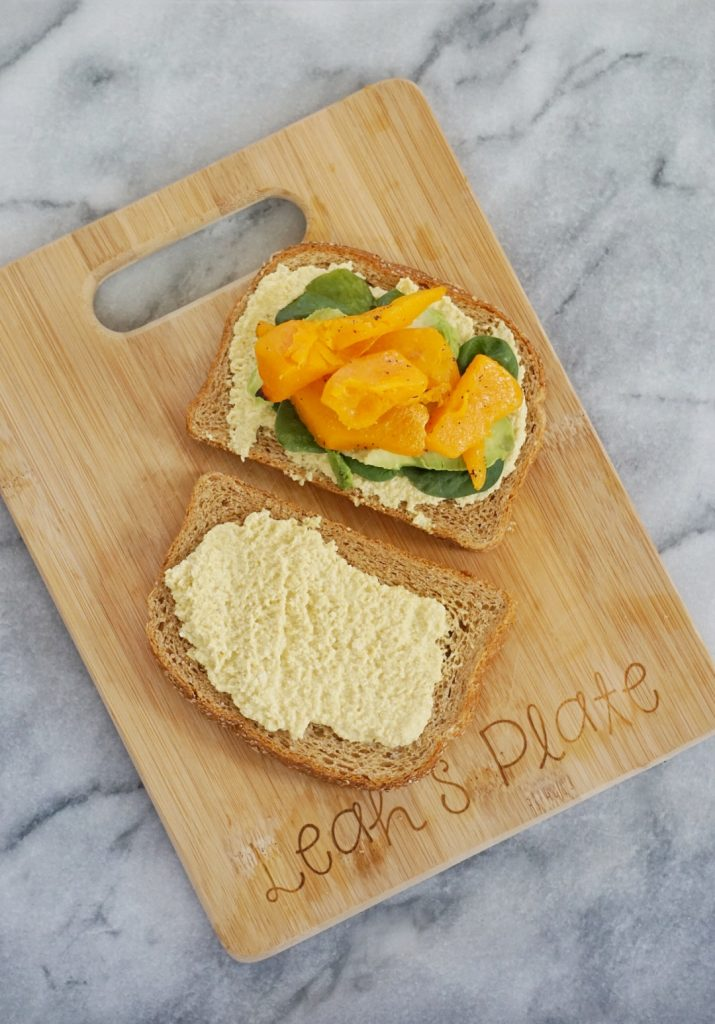 Roasted Butternut Squash Sandwich with Turmeric Cashew Spread2 715x1024 - Roasted Butternut Squash Sandwich with Turmeric Cashew Spread