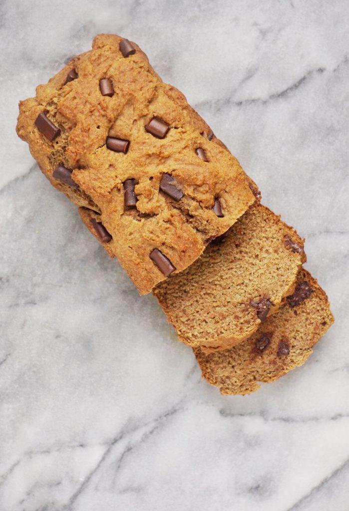 Vegan Spelt Banana Bread6 699x1024 - The Best Vegan Whole Wheat Chocolate Chip Banana Bread