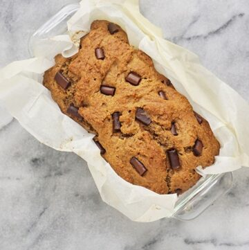 The Best Vegan Chocolate Chip Banana Bread