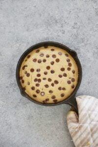 Allergen-Free Chocolate Chip Pancake Skillet Bake (Vegan & Gluten-Free)