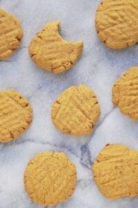 Paleo One Bowl Coconut Sugar Cookies