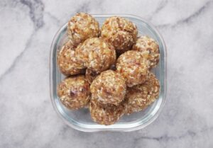 Nut-Free Tahini Energy Bites (Vegan & GF)