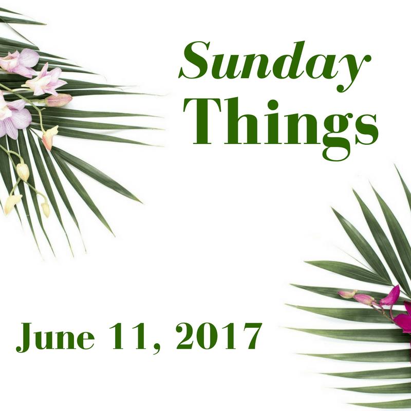 Sunday Things... 6.11.17 - Sunday Things... 6.11.17