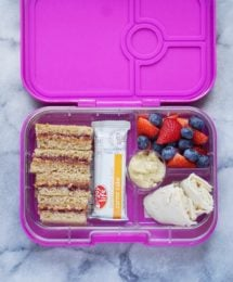 A Healthy Lunchbox for your Little One