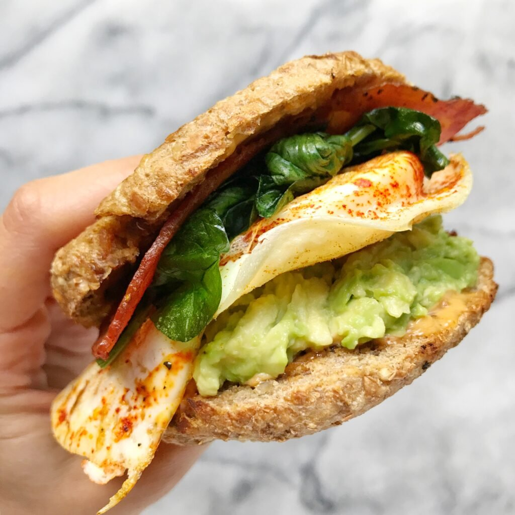 The BEST Healthy Egg McMuffin EVER!