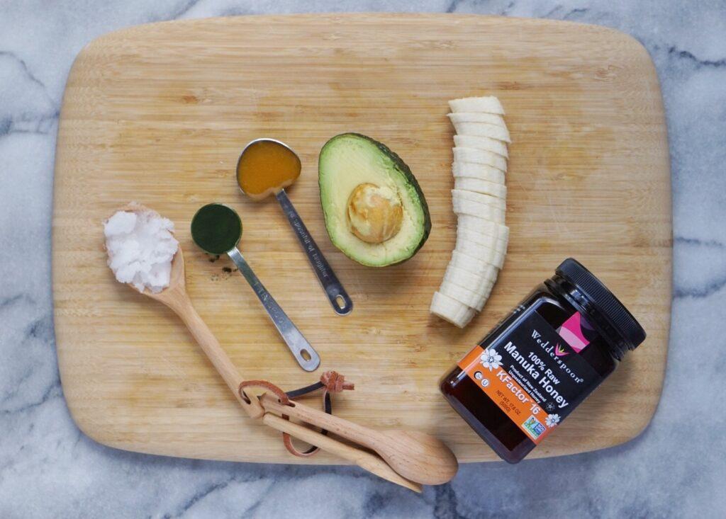 Nourishing Avocado Face Mask 1024x733 - Nourishing Avocado Honey Hair Mask