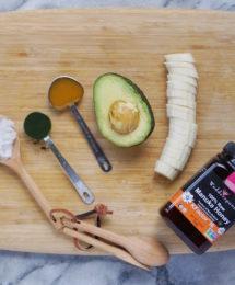 All Natural Nourishing Avocado Honey Hair Mask