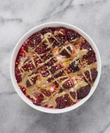 Blackberries N Cream Oatmeal Bowl (Vegan & GF)