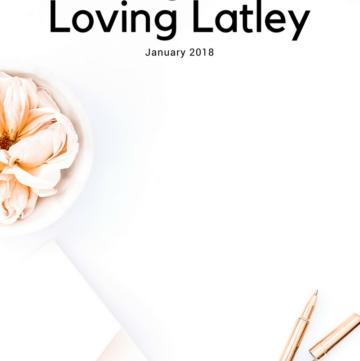 Things I'm Loving Lately January 2018