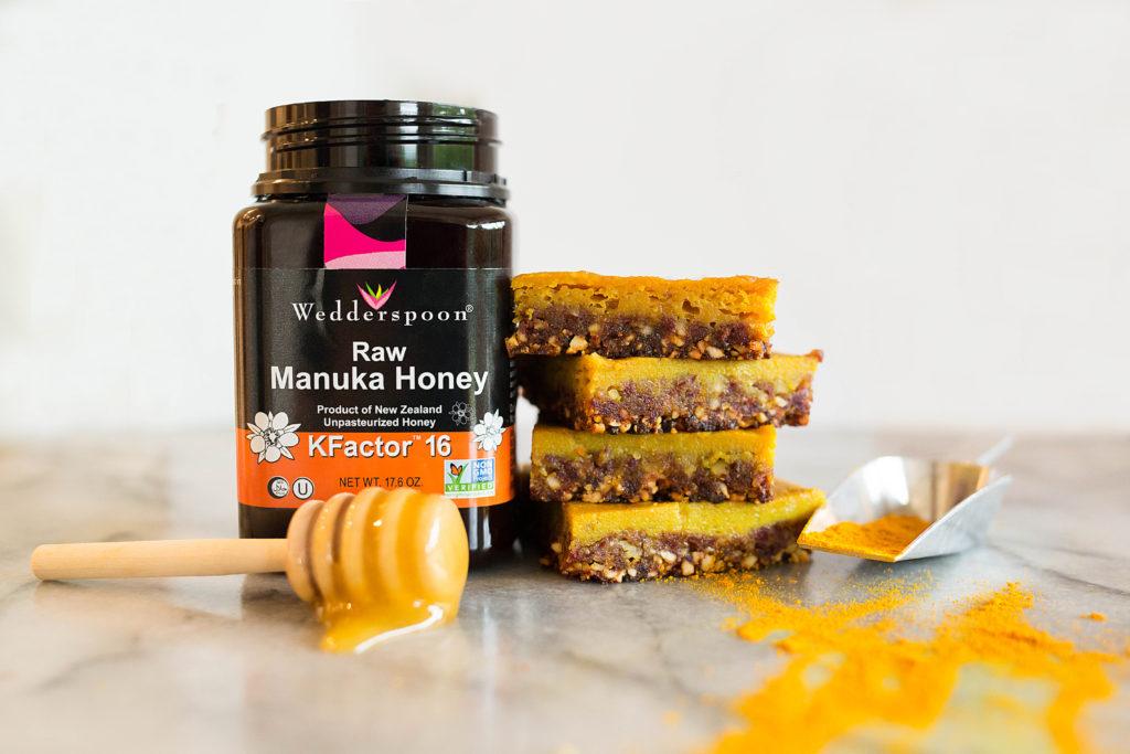 Turmeric Honey Bars6 1024x683 - Turmeric Honey Bars (free of dairy, grains, gluten and refined sugar)!