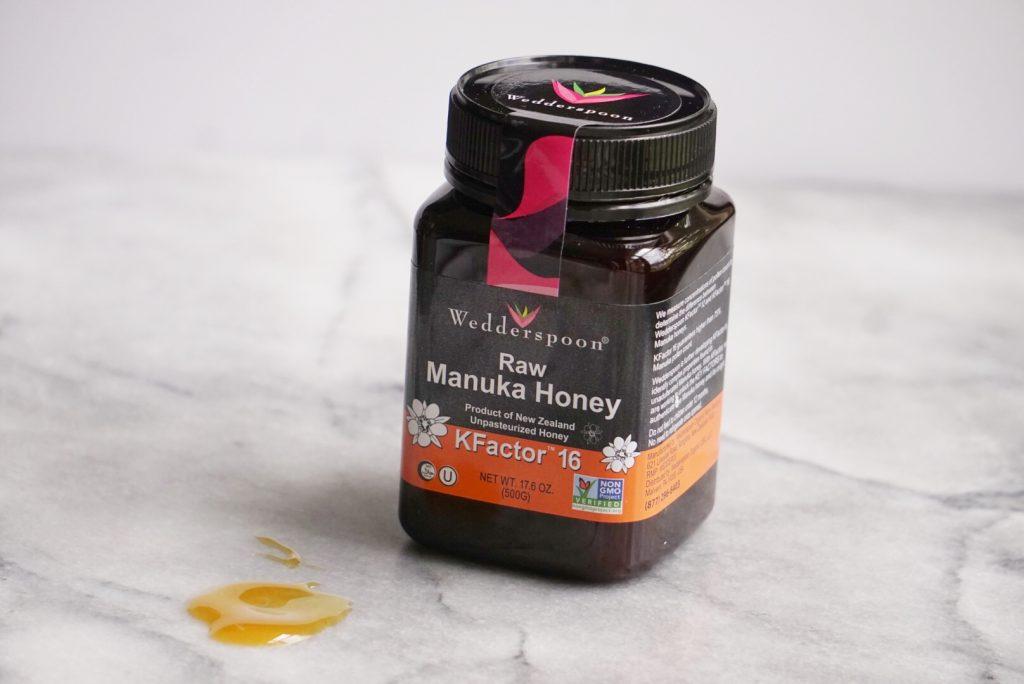 Wedderspoon Honey 1024x684 - Blueberry Honey Oat Breakfast Cookies (Gluten-Free)