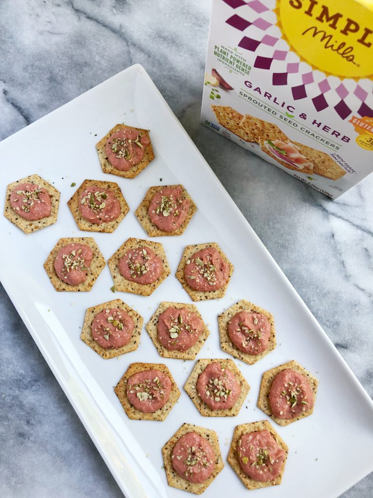 Beet Hummus3 768x1024 - The Perfect Roasted Beet Hummus Appetizer for your Fall Gatherings