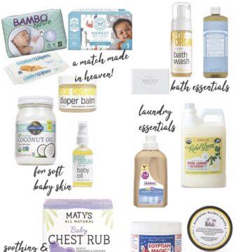 Non-Toxic Baby Essentials