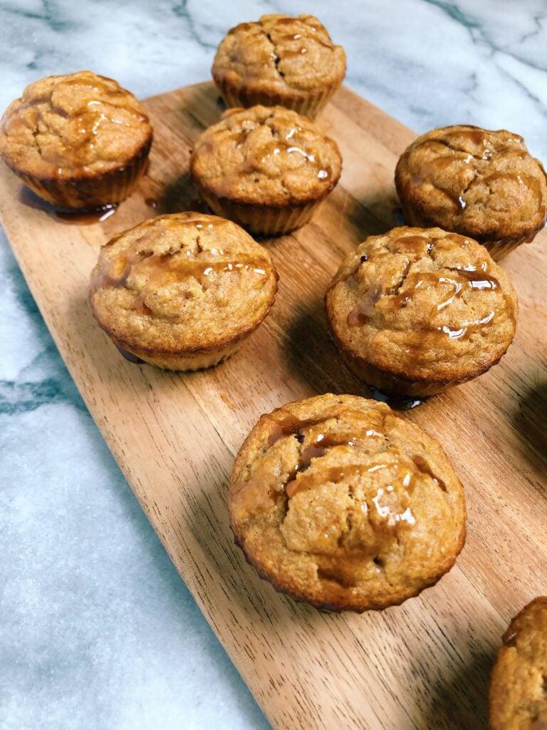 Cacao Honey Banana Muffins (Gluten-Free)
