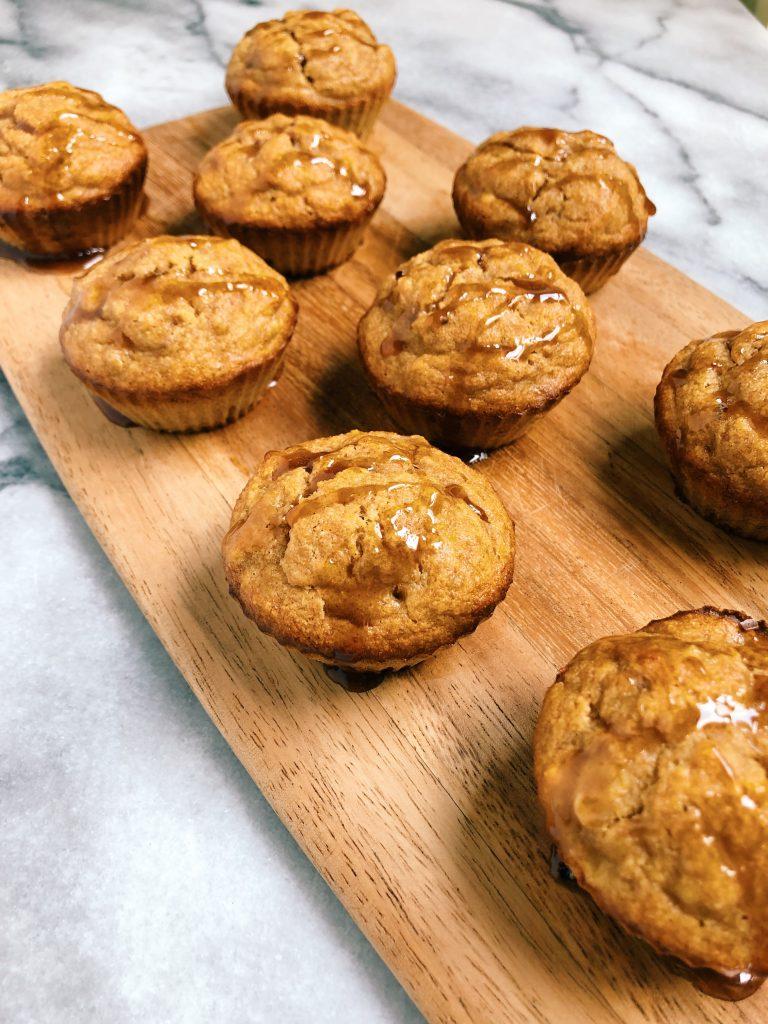 cacao honey banana muffins2 768x1024 - Cacao Honey Banana Muffins (Gluten-Free)