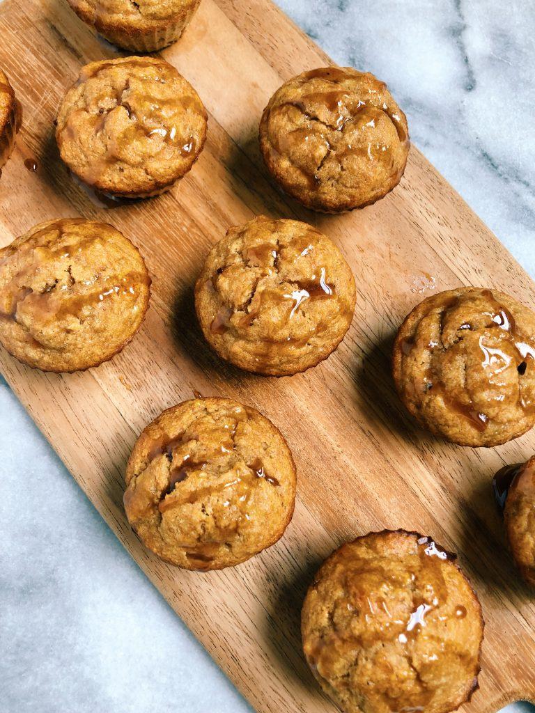 cacao honey banana muffins3 768x1024 - Cacao Honey Banana Muffins (Gluten-Free)