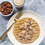paleo pecan waffle 5 150x150 - Paleo Pecan Waffles with a Pecan Praline Sauce