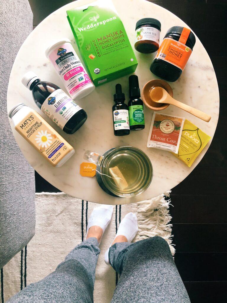 Sick Day Essentials - Natural Remedies