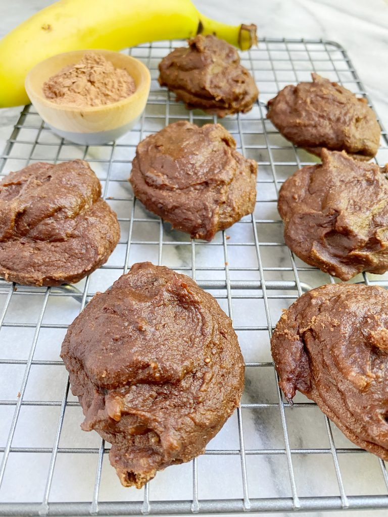 Chocolate Banana Cookies 768x1024 - No Sugar Chocolate Banana Cookies (Paleo)